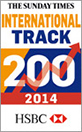 2014 International Track 200 badge